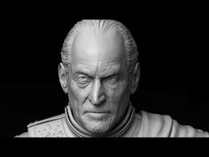 Tywin Lannister Sculpt Timelapse - YouTube