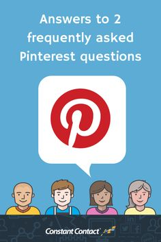 Answers to Two Frequently Asked Pinterest Questions  1. How do you share your content if you don't have eye-catching images on your website?  2. How do you create pins that drive people to sites that you can't pin from directly, like Facebook or Instagram? Read more at http://blogs.constantcontact.com/product-blogs/social-media-marketing/pinterest-business-tips/