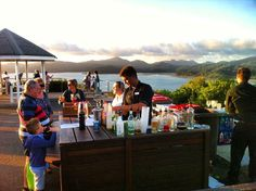 Sunset cocktails at One Tree Hill on Hamilton Island! Fun times! @hamiltonisland @whitsundaysqld by traveltalesblog