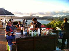Sunset cocktails at One Tree Hill on Hamilton Island! Fun times! @hamiltonisland @whitsundaysqld by traveltalesblog