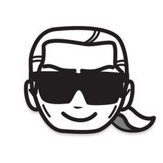 """emotiKarl"": Die Karl Lagerfeld Smiley App | Fashion Insider Magazin"