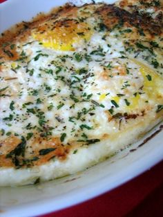 Herbed-Baked Eggs