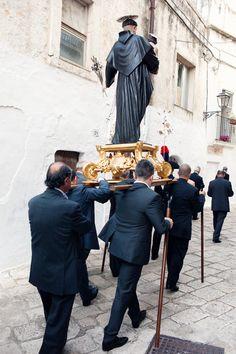 Procession in Ceglie Messapica Puglia Italy copyright Carla Coulson