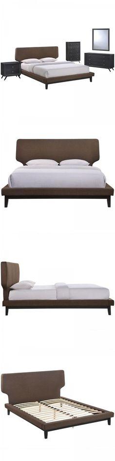 Bedroom Sets 20480: Modway Mod 5335 Blk Brn Set Bethany 5
