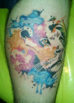 Leon watercolor.