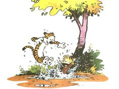 Wallpapers For > Calvin And Hobbes Wallpaper Summer