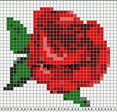 borduren kruissteekpatronen cross-stitching small designs (67)