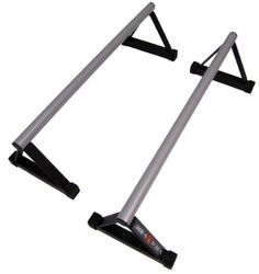 """Vita Vibe Parallettes - Vita Vibe PS48 48"""" Parallette Set by Vita Vibe. $85.95. Made in USA with a 10 year limited warranty, Vita Vibe Parallettes are perfect for L sits, V sits, Tuck Planche, handstands, and many other exercises. 48"""" Long, 10"""" High"""