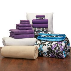 Student Starter Pak - Twin XL Bedding and Bath Set | Dorm Bedding and Bath | OCM.com