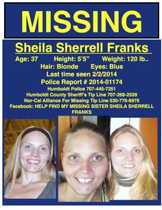 PLEASE SHARE!!!!!! PLEASE SHOW SHEILA'S BOYS PEOPLE DO CARE AND WANT TO HELP FIND THEIR MOM Fortuna California, Humboldt County, Police Report, Sisters, Mom, Tips, People, Wedding Ring, Advice