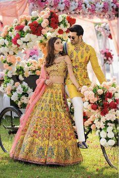 Funny Wedding Dresses, Couple Wedding Dress, Party Wear Dresses, Wedding Bride, Pakistani Bridal, Bridal Lehenga, Indian Bridal, Pakistani Mehndi, Indian Lehenga