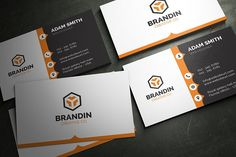 This simple and clean business card template is suitable for any kind of business or personal use. The card is fully editable and come in a well organized layered .PSD file (PHOTOSHOP). All texts are editable and free fonts are used (links are included in the download) Colors can be change very easily (see the tutorial link below)
