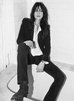 Fashion Tips – Best Fashion Advice of All Time Charlotte Gainsbourg, Jane Birkin, Gainsbourg Birkin, Serge Gainsbourg, Style Me, Cool Style, Style Parisienne, Mein Style, Paris Mode