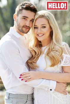 The Wanted Tom Parker and Kelsey Hardwick are over the moon at their engagement