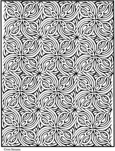 Creative Haven Lotus Designs Coloring BookDover Publications Samples