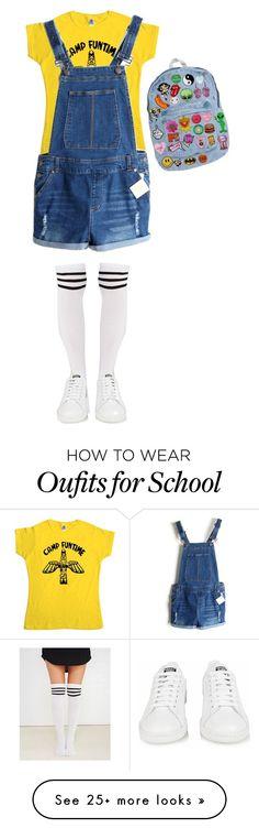 """Middle school"" by fruktamunta on Polyvore featuring moda, Wet Seal e adidas"