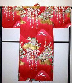 Kimono Daimonji rot