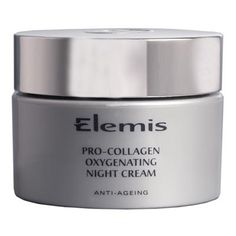 ELEMIS Pro-Collagen Oxygenating Night Cream this luxurious cream gel has been specifically formulated to help the natural regeneration of your skin while you sleep, with proven results. Best Night Cream, Anti Aging Night Cream, Elemis Facial, Beauty Bible, Oils For Skin, Health And Beauty Tips, Anti Aging Skin Care, Face And Body, Beauty