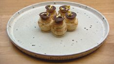 Paris-Brest Small Food Processor, Food Processor Recipes, Masterchef Recipes, Masterchef Australia, Paris Brest, Choux Pastry, British Bake Off, Serving Plates, Something Sweet