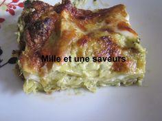 Sauce Pesto, Sauce Béchamel, Lasagne Au Pesto, Mozarella, Mille, Saveur, C'est Bon, Lasagna, Cooking