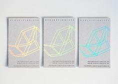 Grafikdesign Frankfurt - Visitenkarten Gestaltung Druckveredelung Letterpress Prägung Hologrammfolie