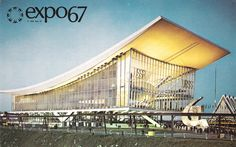 Expo 67 - Soviet Union pavilion. I'm getting kinda obsessed with Expo67.