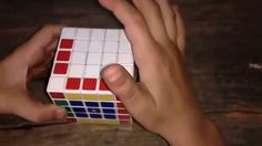 How to make Letter C in 5 by 5 Rubik's cube