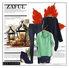 """""""http://www.zaful.com/pure-color-linen-long-sleeve-shirt-p_81182.html?lkid=2989  http://www.zaful.com/solid-color-pocket-long-sleeve-cardigan-p_68186.html?lkid=2989"""" by goldenhour ❤ liked on Polyvore featuring J Brand, Ted Baker, Liz Claiborne, Arche and OKA"""