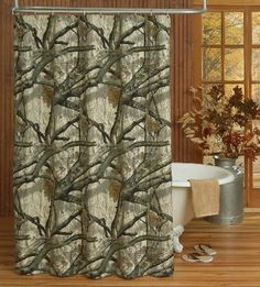 Mossy Oak Treestand® Camouflage Shower Curtain