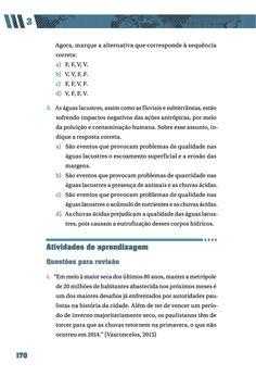 Página 170  Pressione a tecla A para ler o texto da página