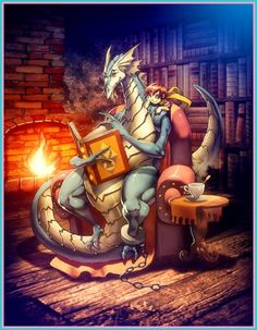 LeDragon and his son Pablo by GENZOMAN on DeviantArt