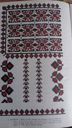 Cross Stitch Floss, Cross Stitch Embroidery, Embroidery Patterns, Cross Stitch Patterns, Traditional Outfits, Bohemian Rug, Sewing, Knitting, Moldova