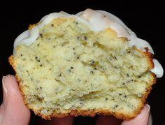 The Bake More: poppy seed lemon cupcake Dorie Greenspan