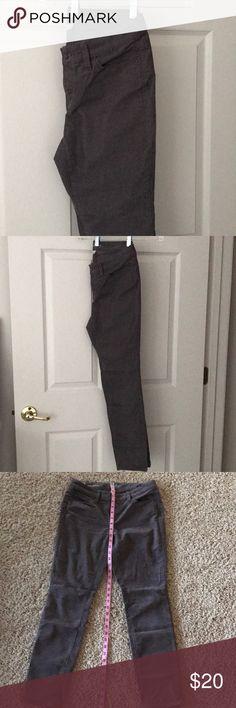 Loft gray cords Loft modern skinny gray cords size 4P LOFT Jeans Skinny