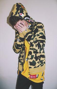 Supreme hoodie, Hoodie and Camo on Pinterest