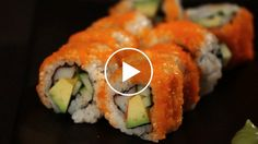 WATCH NOW: Learn how to make a California roll from sushi chef Mamie Nishide in this Howcast food video.
