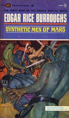Ballantine Books - Synthetic Men of Mars - Edgar Rice Burroughs