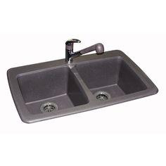 quartz kitchen sinks | midwest countertops - riverstone quartz
