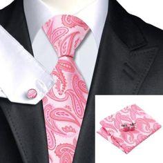 C-1066-mens-ties-jason-vogue-silk-tie-hanky-cufflink-set-pink-necktie-wedding