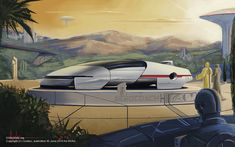 Future Transportation - Futuristic Cars Inspired by Syd Mead's Blade Runner designs (27 Pictures)