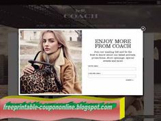 Coach Coupons PROMO expires May 2020 Hurry up for a BIG SAVERS How to use Coach Promo Code: The coach promo code can be entered on the . Pizza Coupons, Shopping Coupons, Grocery Coupons, Kfc Coupons, Mcdonalds Coupons, Walgreens Coupons, Target Coupons, Best Buy Coupons, Online Coupons