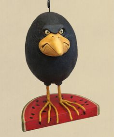 Chicken Lips - This 'n That Gallery - Whimsical Folk Art Characters for All Seasons by Artist David H. Sculptures Céramiques, Bird Sculpture, Paper Mache Projects, Clay Birds, Painted Gourds, Clay Figures, Paperclay, Gourd Art, Halloween Art