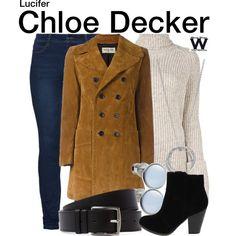 Inspired by Lauren German as Chloe Decker on Lucifer.