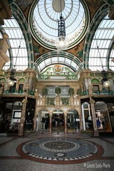 County Arcade, Leeds Leeds England, England And Scotland, London England, Yorkshire Day, Yorkshire England, Great Places, Places To See, Irish Sea, North York