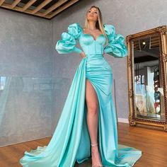 Formal Dresses 2015, Glam Dresses, Tight Dresses, Blue Evening Gowns, Lace Evening Dresses, Sophisticated Wedding Dresses, Elegant Dresses, Playsuit Dress, Slit Dress