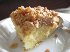 Easy coffee house style crumb cake