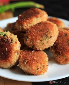 Evening Snacks Recipe for Kids-Veg Poha Cutlet