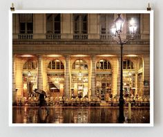 Cafe Nemours Paris by @Nichole Robertson