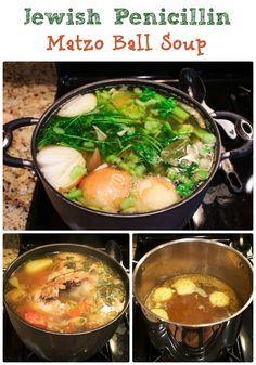 Homemade Chicken and Matzo Ball Soup | Sassy Girlz Blog