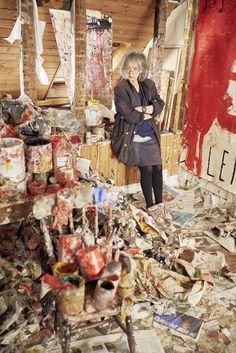 """""""I want this to be as direct as possible. Sloppy writing sees this as 'childlike' which is, of course, too simplistic."""" Rose Wylie's distinctive paintings, which often have a wickedly comical side, have brought her critical acclaim in the last decade."""